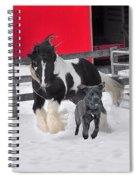 Snow Buddies Spiral Notebook
