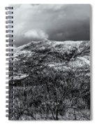 Snow Capped 45 Spiral Notebook