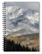 Snow Capped Beauty Spiral Notebook