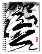 Snow-clad Mountain Spiral Notebook