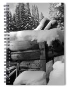 Snow Covered History Spiral Notebook