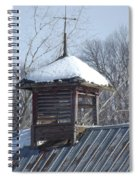 Snow Cupola Spiral Notebook