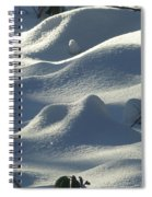 Snow Dunes Spiral Notebook