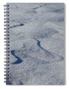 Snow Dunes Spiral Notebook