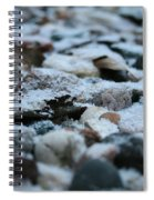 Snow Dusted Spiral Notebook