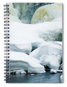 Snow Formations Spiral Notebook