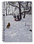 Snow Fun Spiral Notebook