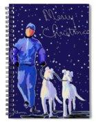 Snow Greys Spiral Notebook