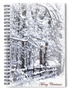 Snow-img-2174-merry Christmas Spiral Notebook