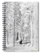 Snow Impressions Spiral Notebook