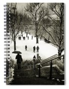 Snow In London Spiral Notebook