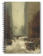 Snow In New York Spiral Notebook