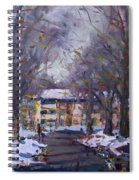 Snow In Silverado Dr Spiral Notebook