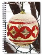 Snow Just In Time For Christmas Spiral Notebook