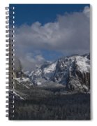 Snow Kissed Valley Spiral Notebook