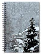 Snow Landscape Spiral Notebook