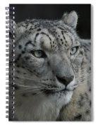 Snow Leopard 15 Spiral Notebook