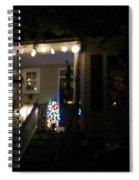Snow Lights Spiral Notebook