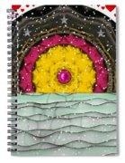 Snow Love Pop Art Spiral Notebook