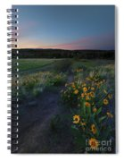 Snow Mountain Trail Spiral Notebook