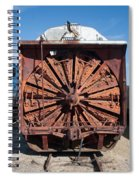 Snow Mover Spiral Notebook