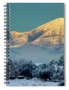 Snow On Utah Mountains Spiral Notebook