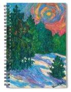 Snow Pines Spiral Notebook