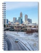 Snow Plowed Public Roads In Charlotte Nc Spiral Notebook