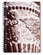 Snow Pot Spiral Notebook