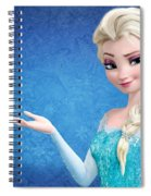 Snow Queen Elsa Frozen Spiral Notebook