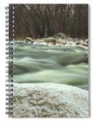 Snow Rock Spiral Notebook