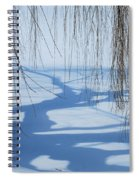 Snow Shadows I Spiral Notebook