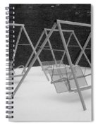 Snow Swings Spiral Notebook