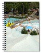 Snow Time Spiral Notebook