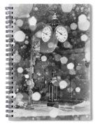 Snow Time Holly Michigan Spiral Notebook
