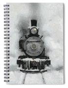 Snow Train Spiral Notebook