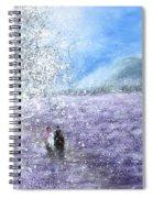 Snow Tree Spiral Notebook