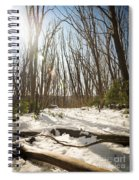 Snow Trees Spiral Notebook