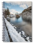 Snowcapped Spiral Notebook