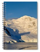 Snowcapped Mountain, Andvord Bay Spiral Notebook