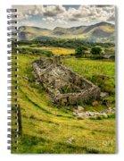 Snowdon Ruin Spiral Notebook