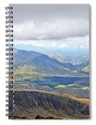 Snowdonian Thunderstorm Spiral Notebook