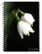 Snowdrop Duo Spiral Notebook