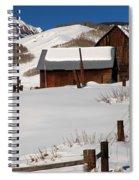 Snowed In Spiral Notebook