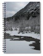 Snowed Under Valley Spiral Notebook