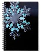 Snowflake In Window 20471 Spiral Notebook