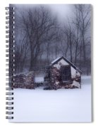 Snowing At Narcissa Road Springhouse Spiral Notebook