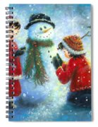Snowman Song Spiral Notebook