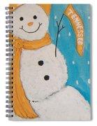Snowman University Of Tennessee Spiral Notebook