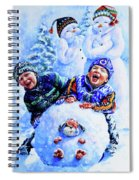 Snowmen Spiral Notebook